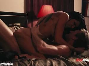 Peerless Romi Rain has passionate sex with a stranger