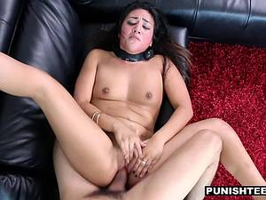 Latina GF tied up and fucked hard
