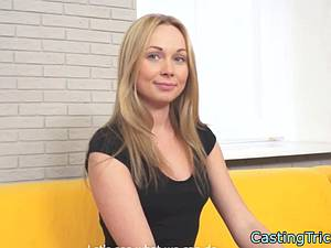 Russian hottie tricked into casting
