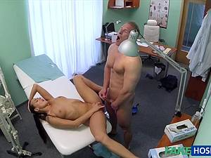 Hot nurse gives patient some sexual healing