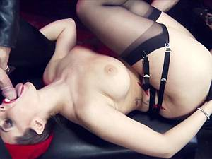 Paige can't resist big cocks