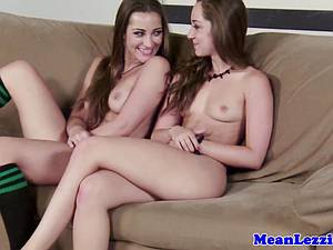 Hot lesbian Dani Daniels makes love to sweet pussy