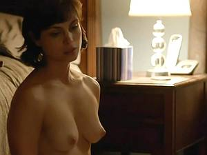 Amazing Morena Baccarin looking sexy naked on film