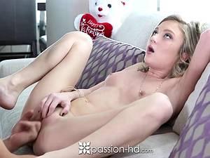 Small Dakota Skye in an erotic session