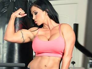 Porno orgy in the gym. Mature babe with big boobs ready to ride the big rod