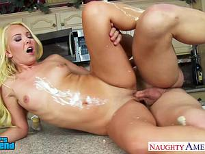 Classy Aaliyah Love takes a large member inside her snatch