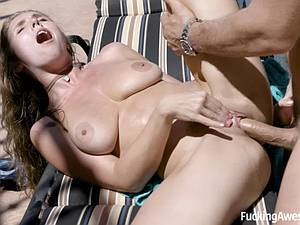 Fuckable horny Lena Paul always finds a dick in need of fanny