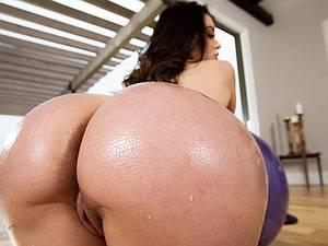 Lana Rhoades gets her ass stuffed during a yoga class