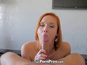 Redhead Alex Tanner pussy fucked